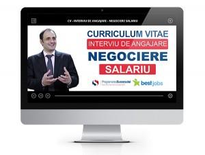 curriculum vitae interviu de angajare negociere salariu