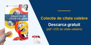 250 Citate despre viata - Citate celebre - Gratuit formatul PDF
