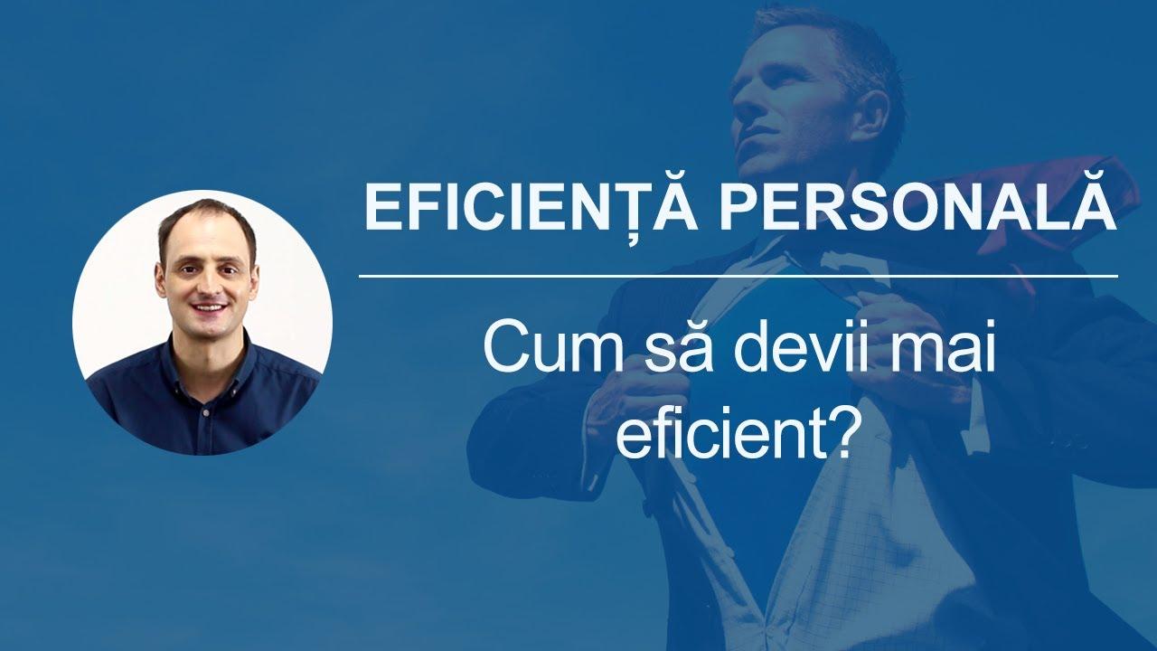 eficienta personala