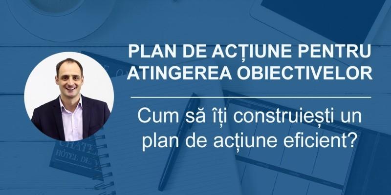 plan de actiune pentru atingerea obiectivelor