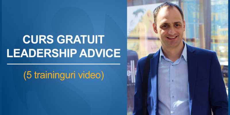 Curs Leadership Advice